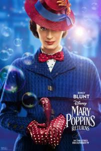 Смотреть кино Мэри Поппинс возвращается 2018 бесплатно